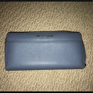 Michael Kors Denim Blue Wallet